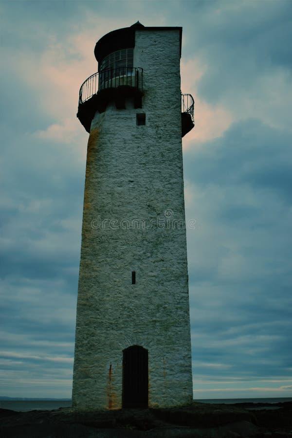 Scottish Lighthouse royalty free stock photos