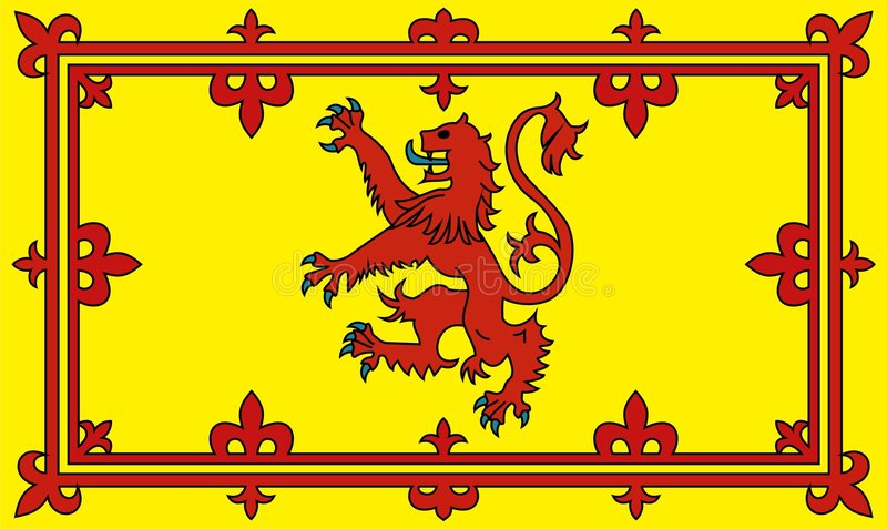 Download Scottish lion rampant stock vector. Image of edinburgh - 8443168