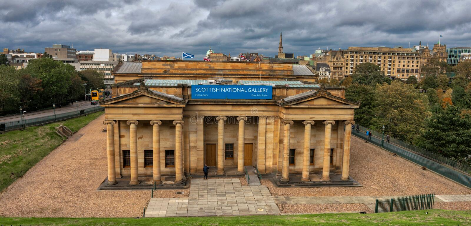 Scottish National Gallery stock photography