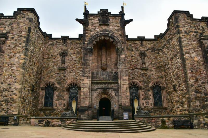Scottish National War Memorial, Edinburgh Castle stock photography