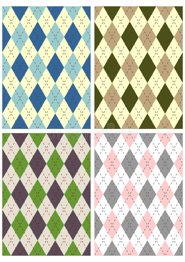 Download Scottish patterns stock vector. Image of repetition, textile - 5146276