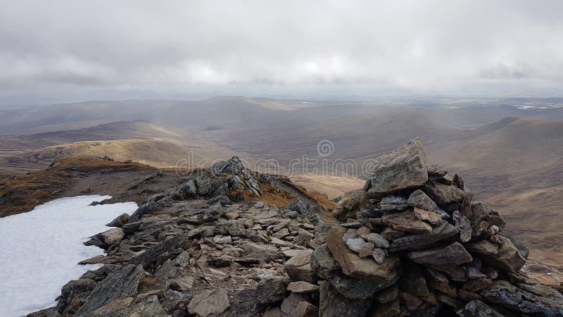 Scottish peaks royalty free stock image
