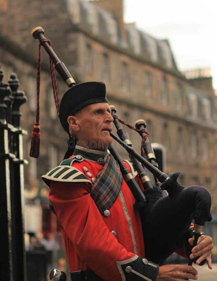 Scottish Piper Editorial Stock Photo