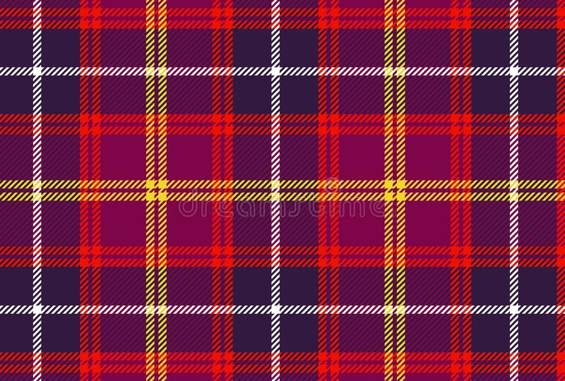 Scottish plaid, tartan seamless pattern background. Illustration design stock images