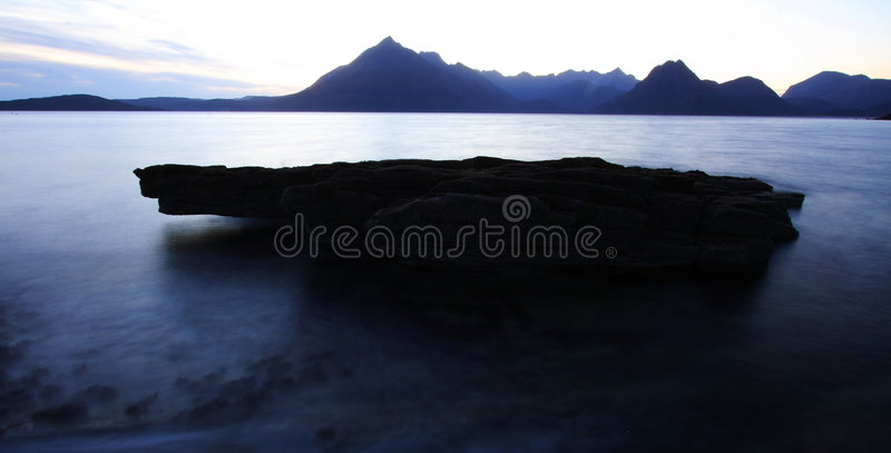 Scottish sea landscape royalty free stock image
