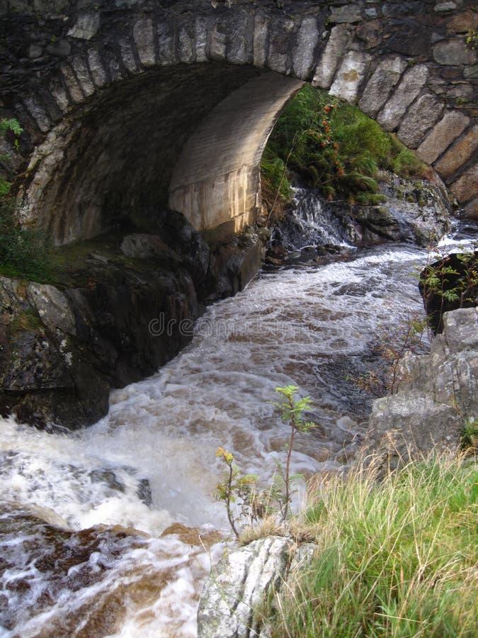 Scottish Stone Bridge stock photography