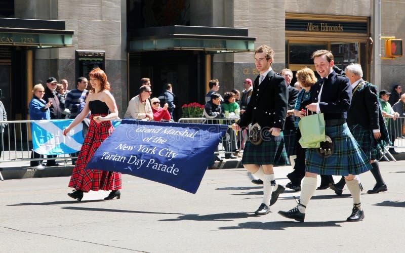 Download Scottish tartan day parade editorial image. Image of scottish - 19133920