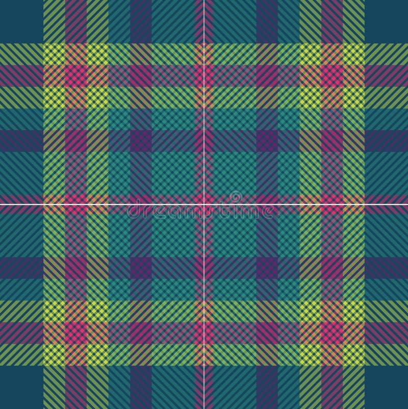Scottish tartan seamless royalty free stock image