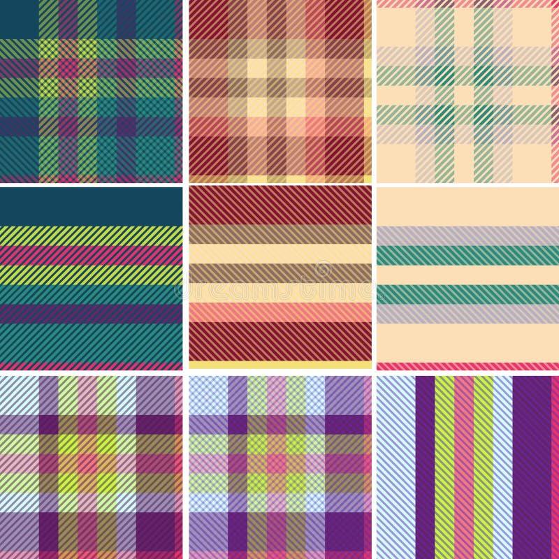 Scottish tartan, Tweed variation seamless stock photography