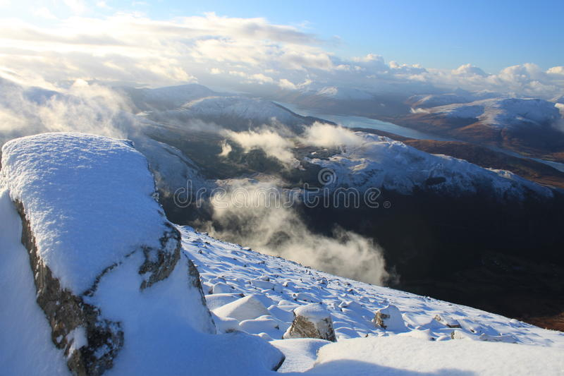 Scottish winter royalty free stock images