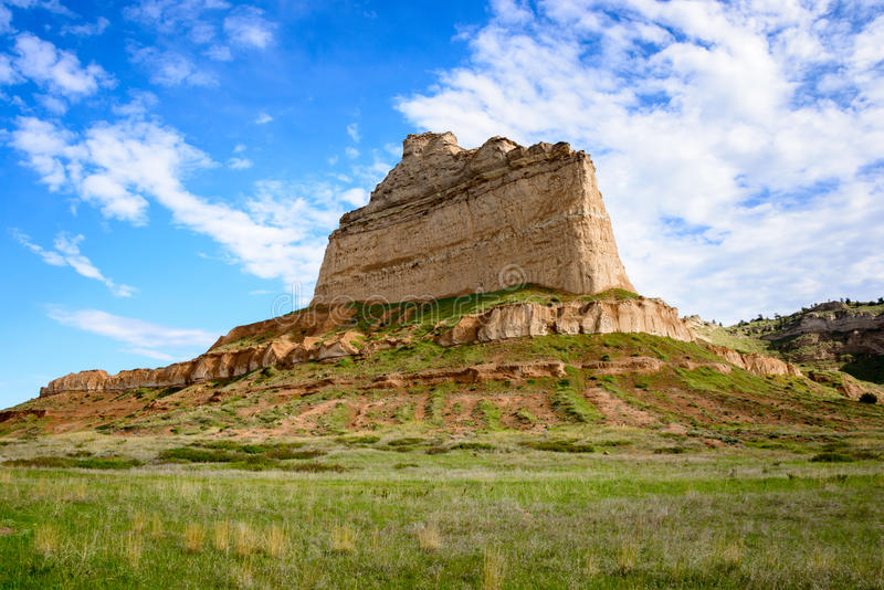 Scotts Bluff National Monument. Nebraska royalty free stock photos