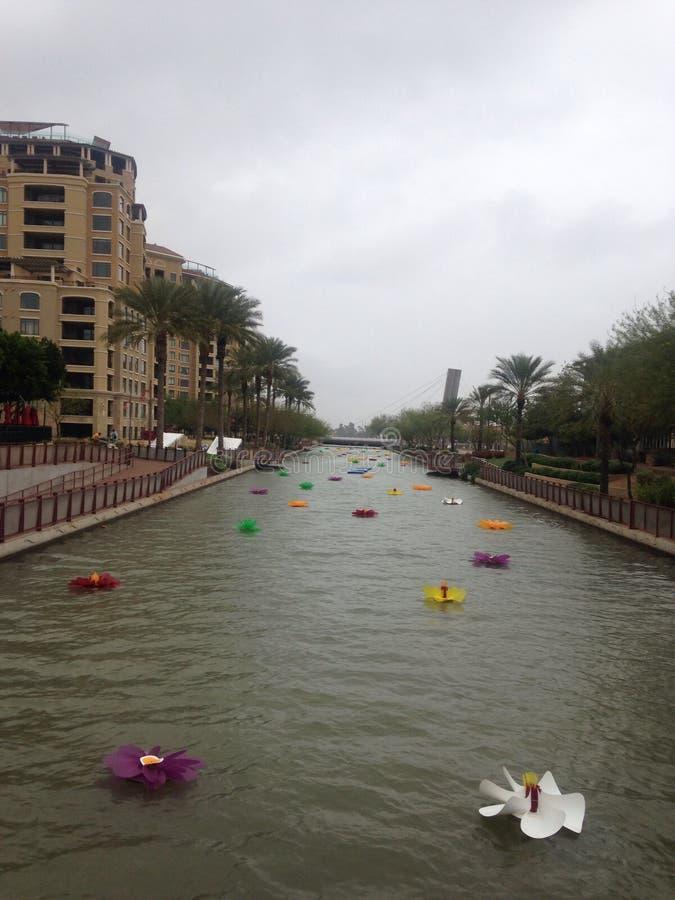 Scottsdale-Ufergegend lizenzfreies stockbild