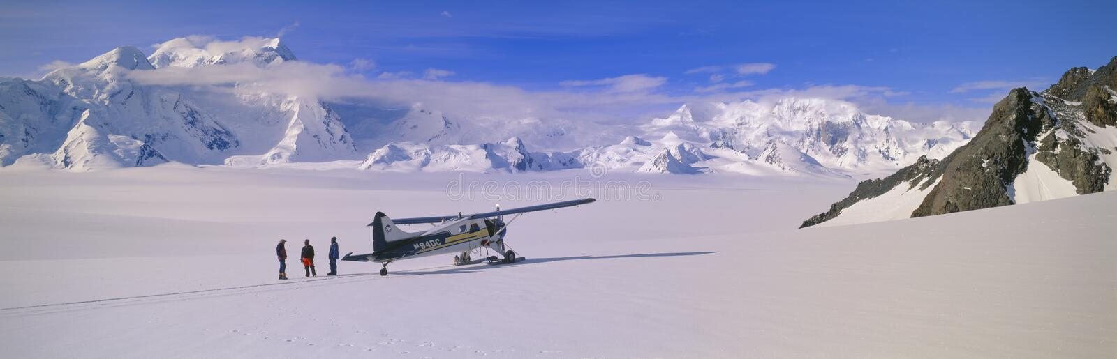 Download Scout bush airplane editorial photography. Image of icefields - 23174567