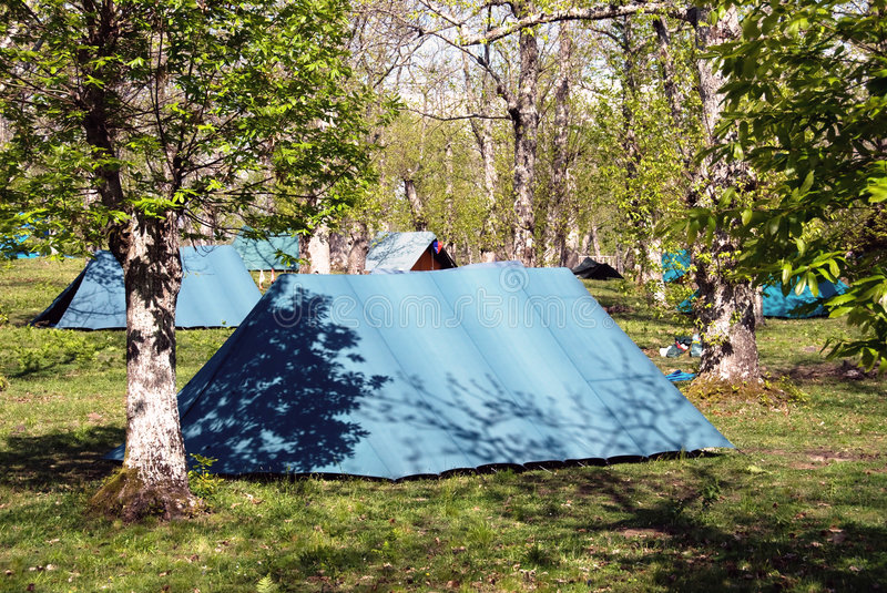 Download Scout camp stock image. Image of tent, camping, camp, adolescence - 6001559