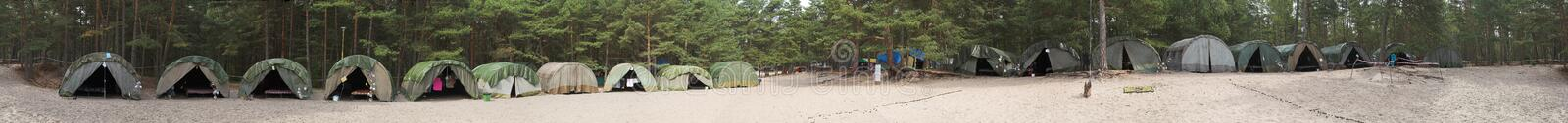Download Scout campsite stock image. Image of activity, organization - 1417049