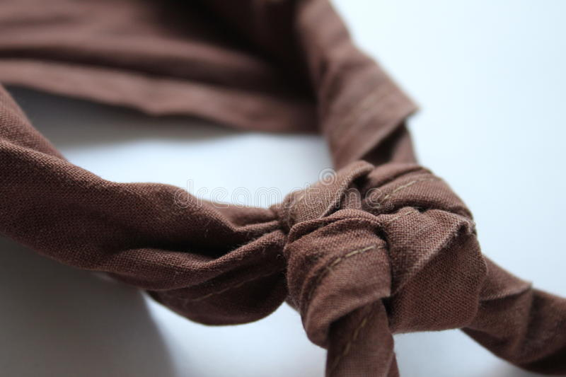 A scout shawl stock photos