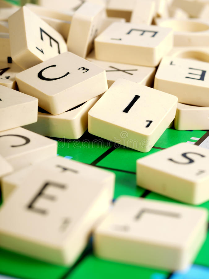 Download Scrabble Letters stock image. Image of strategy, game - 13964315