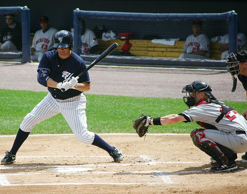 Scranton Wilkes Barre Yankees batter Mike Lamb