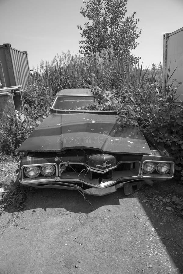 Scrap car royalty free stock photo