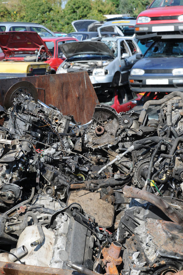 Download Scrap and cars stock photo. Image of disposal, grease - 29089760