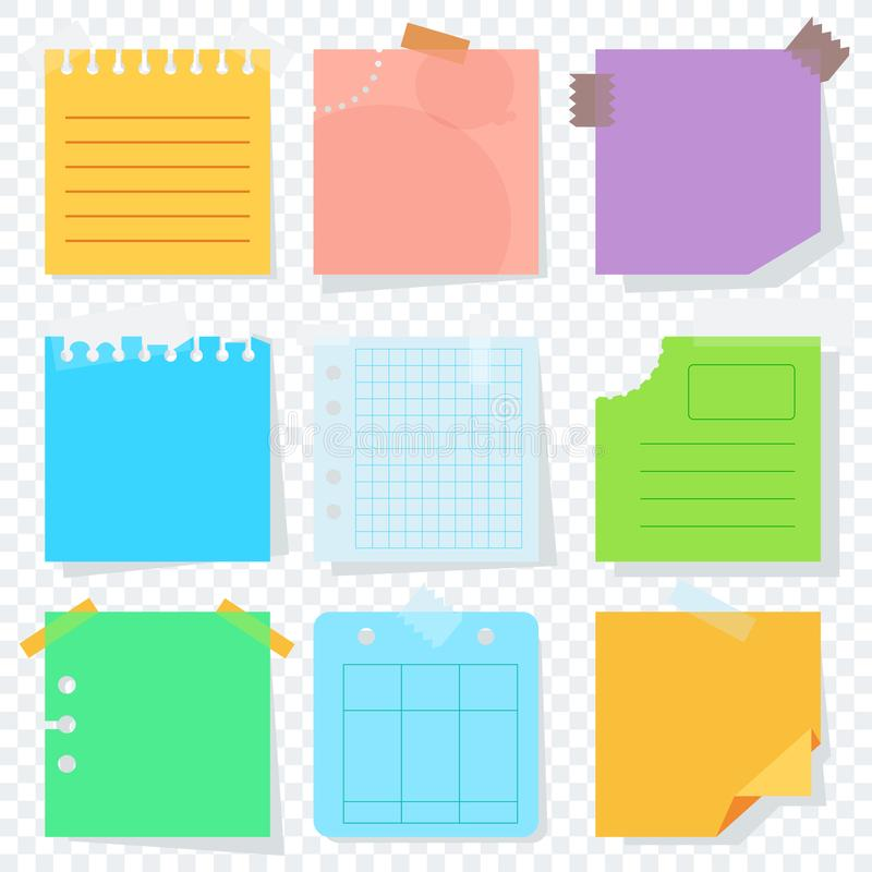 download scrap color paper transparent stock vector illustration of piece icon 104943501 - Colored Transparent Sheets