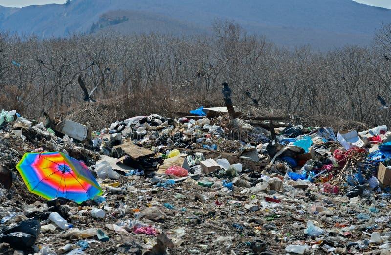 Download Scrap-heap 2 stock photo. Image of umbrella, environment - 27399746