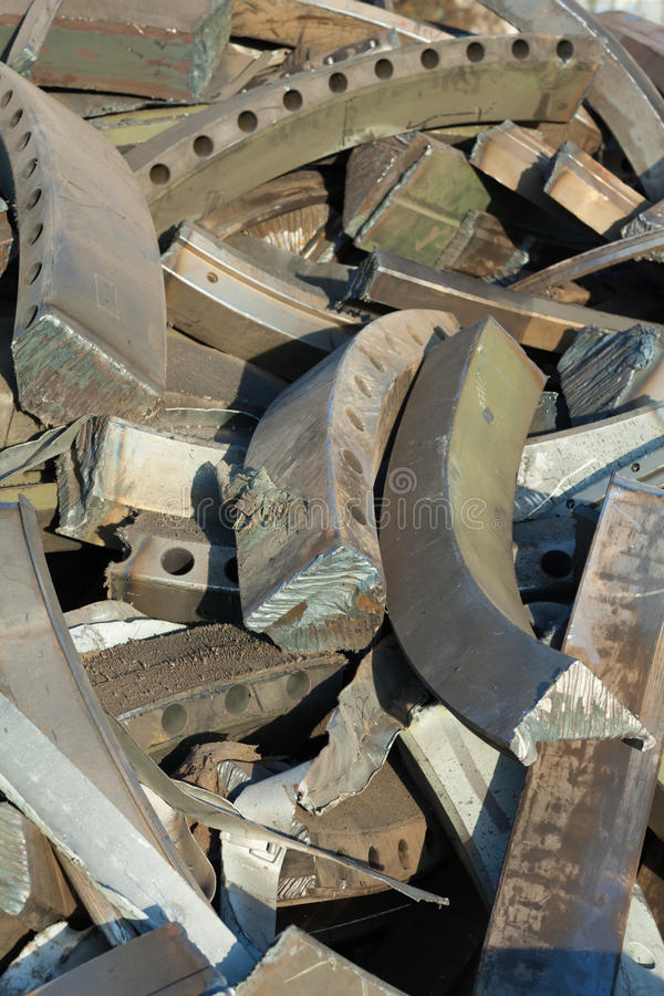 Scrap iron royalty free stock images