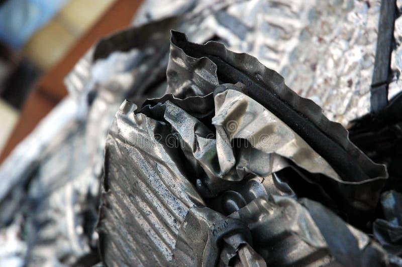 Scrap Metal. Close up shot of Scrap Metal stock photo