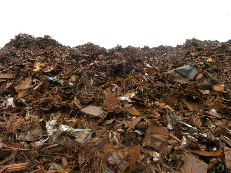 Download Scrap metal stock image. Image of landfill, industrial - 244713