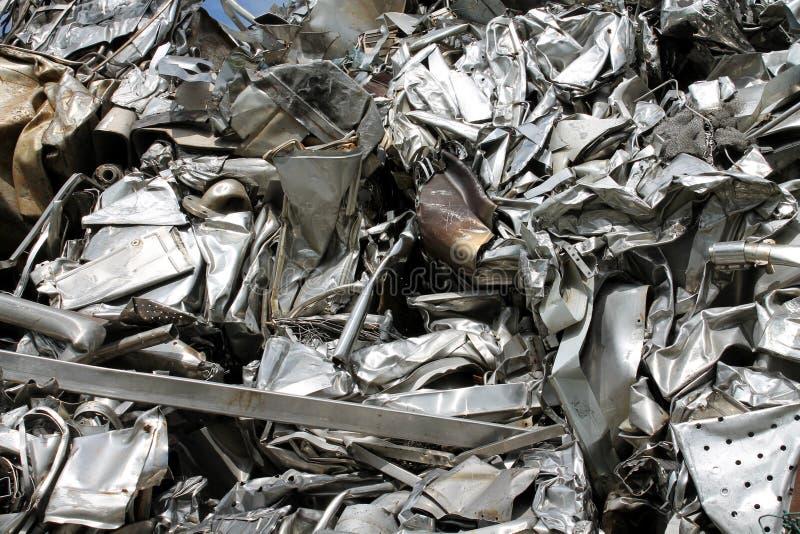 Scrap metal. Fun background with scrap metal royalty free stock image