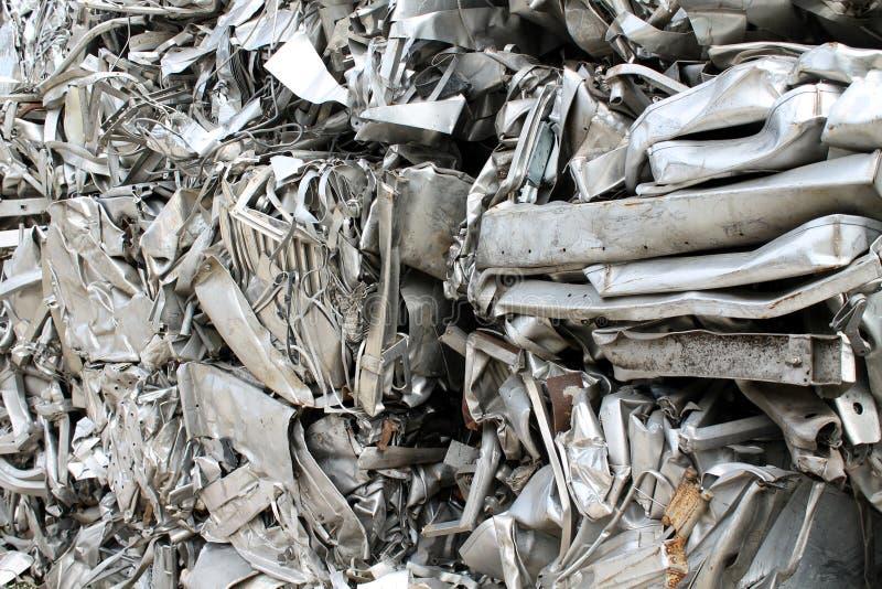 Scrap metal. Fun background with scrap metal stock image