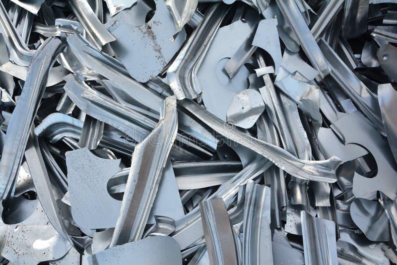 Scrap metal. At a scrap yard royalty free stock images