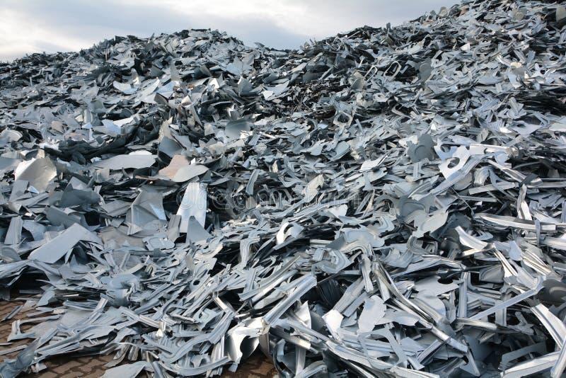 Scrap metal. At a scrap yard royalty free stock image
