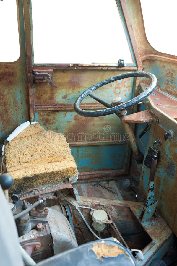 Download Scrap vehicle interior stock photo. Image of broken, corroded - 23357350
