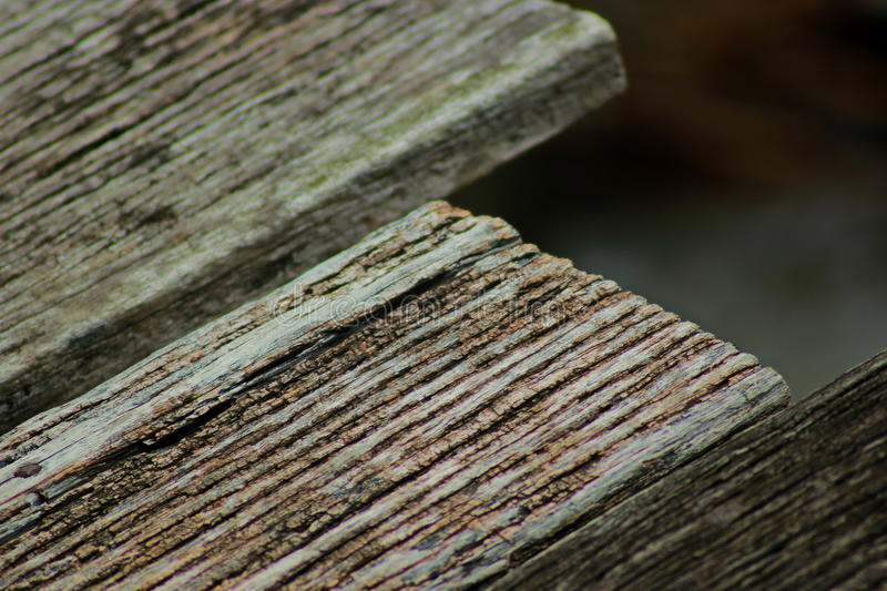 Scrap wood. Old wooden debris. Decaying seaside area that is seen as trash. Do not need people to be left without attention may come from homes or from the royalty free stock images