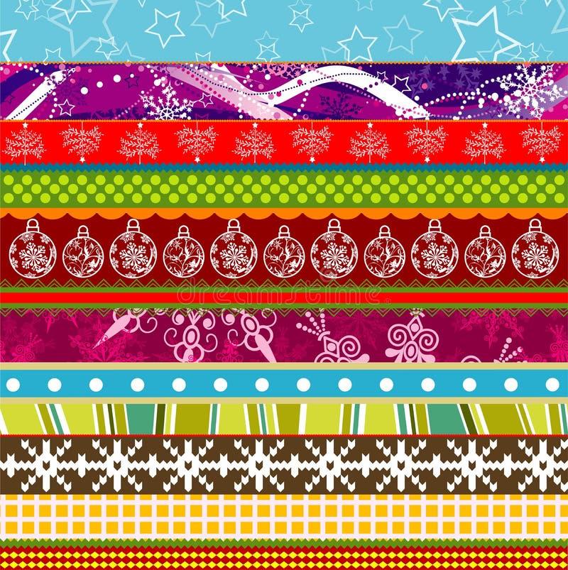 Scrapbook christmas patterns for design