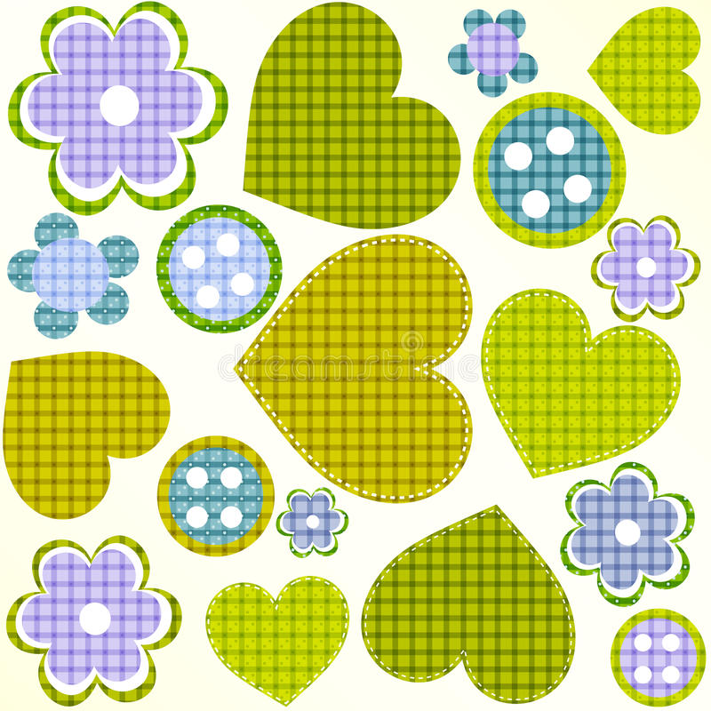Free Scrapbook Design Elements Set Frames Buttons Royalty Free Stock Photography - 23444487