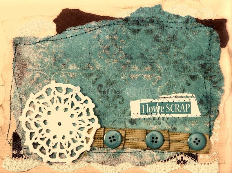Scrapbook Design Elements - Vintage stock images