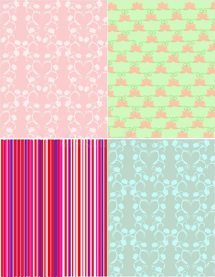 Free Scrapbook Patterns Stock Images - 19874604