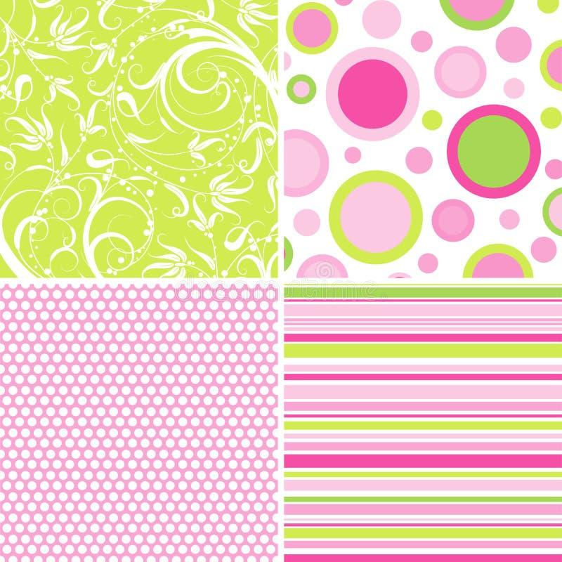 Download Scrapbook Patterns For Design, Stock Vector - Image: 18971443