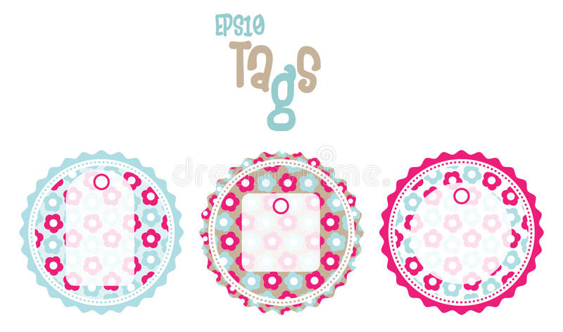 Download Scrapbook Tags Royalty Free Stock Photography - Image: 19388827