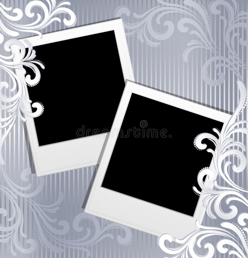 Free Scrapbook Template Royalty Free Stock Photos - 11745898