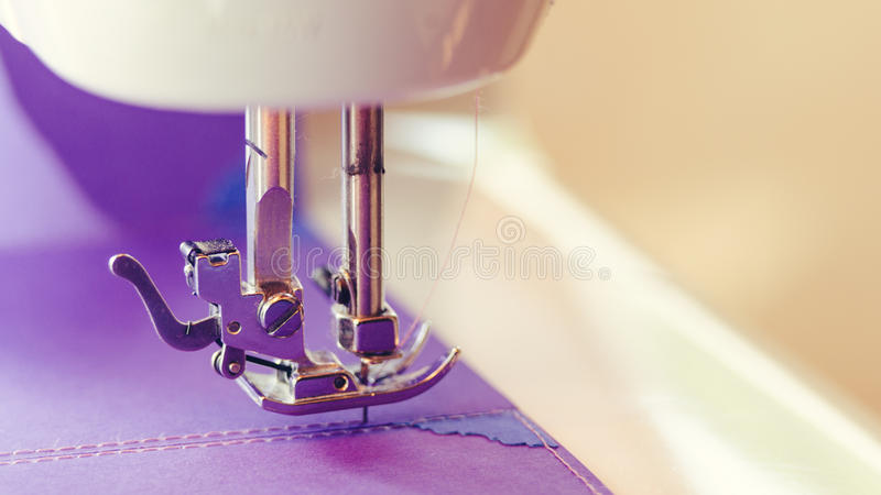 Scrapbooking Design Sewing Machine Concept royalty free stock photography