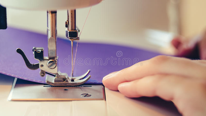 Scrapbooking Design Sewing Machine Concept royalty free stock image