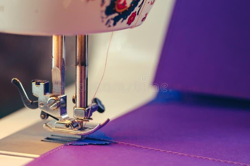 Scrapbooking Design Sewing Machine Concept stock image