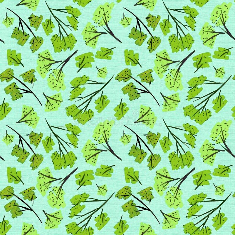 Scrapbooking Elemente der Musterbeschaffenheitsblumenniederlassungen Kirschblüte-Natur Tapetenpapierkunstentwurfsdekorations-Krea vektor abbildung