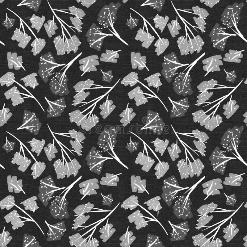 Scrapbooking Elemente der Musterbeschaffenheitsblumenniederlassungen Kirschblüte-Natur Tapetenpapierkunstentwurfsdekorations-Krea stock abbildung