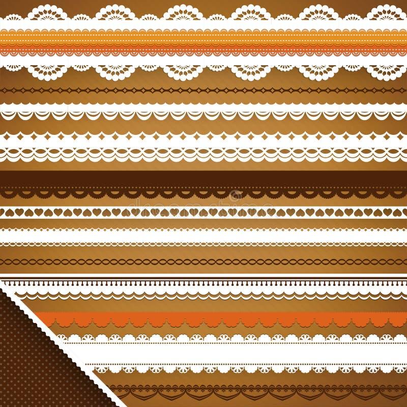 Download Scrapbooking Set: Ornate Ribbons Stock Vector - Illustration of line, effect: 30872255
