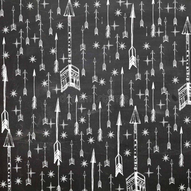 Scrapbooking stjärnapilar arkivbilder