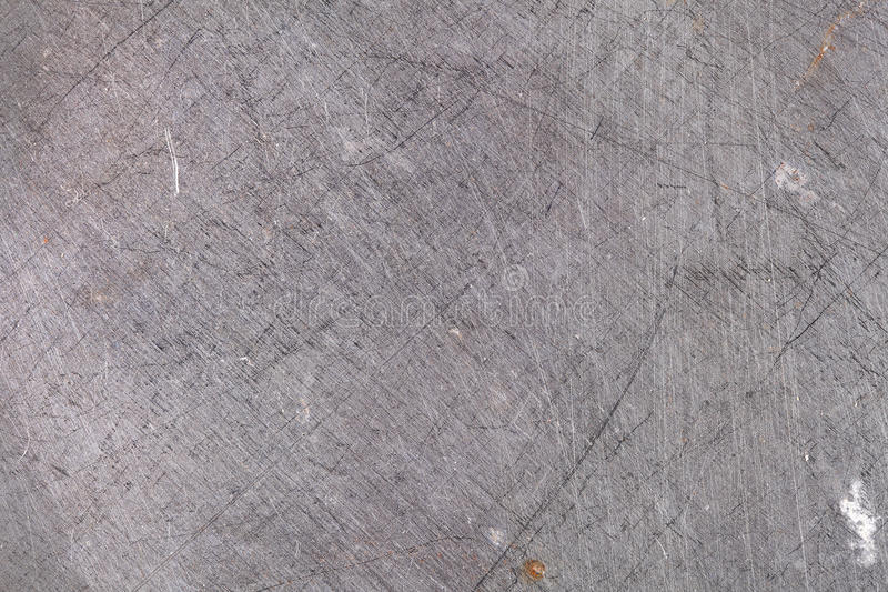 Scraped metallic surface, industrial background.  royalty free stock photo